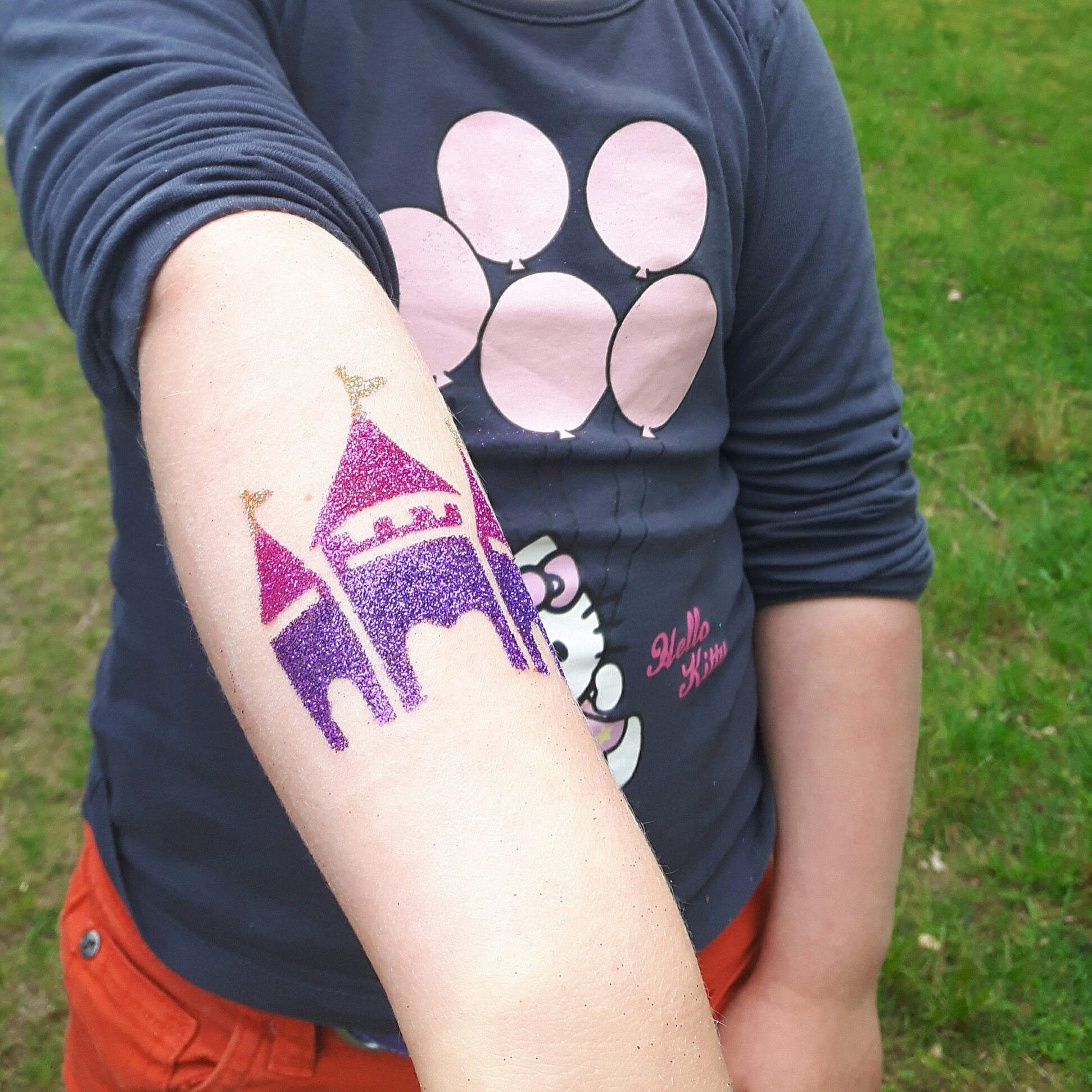 dreamdesignz glitter tattoos